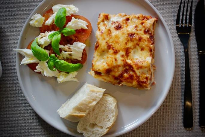 lasagne porsjon