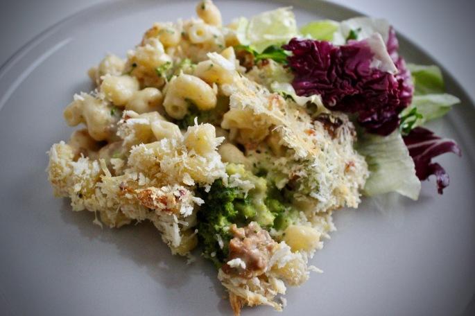 chorizo og brokkoli mac'n'cheese med ridderost 2