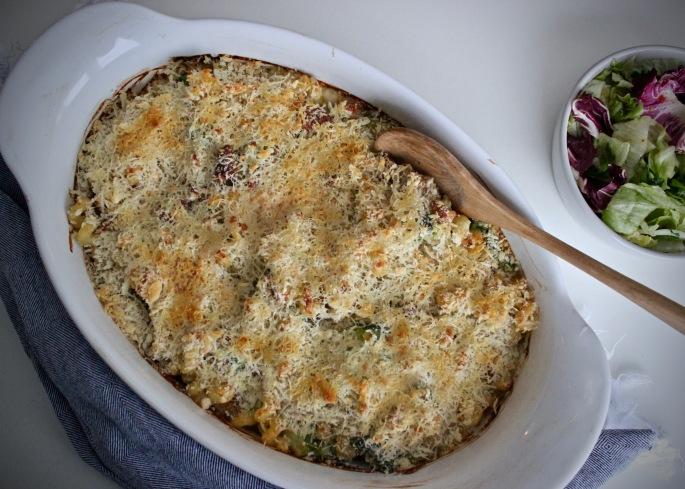 chorizo og brokkoli mac'n'cheese med ridderost 3