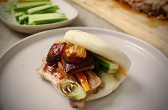 bao buns med ribbe skrått